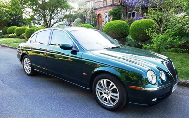 2004 Jaguar S-Type 2.5 V6 SE 20,800 miles from new