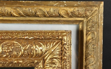 "A 19th Century Composition Frame, 21.5"" x 17.5"""
