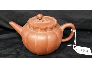 A Chinese Yixing teapot early 20th Century 6.5 x 4 inch...