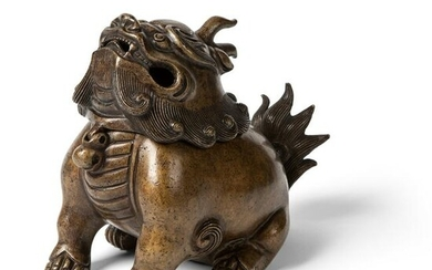 BRONZE 'LUDUAN' INCENSE BURNER QING DYNASTY, 19TH