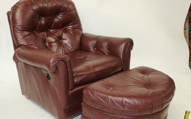 Barrington Young leather recliner chair
