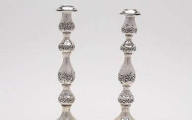 Candlesticks, one pair.