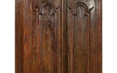 Carved Tropical Hardwood Armoire