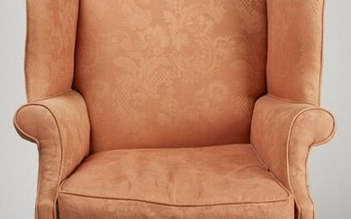 Chippendale Upholstered Arm Chair