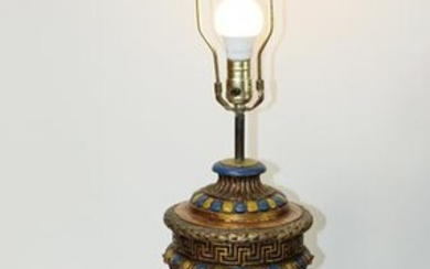Classical style lamp with angels