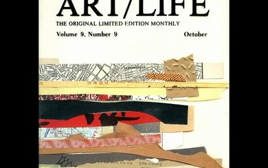"""Collection of 12 """"Art/Life"""" Magazines."""