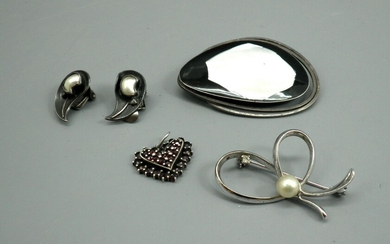 Collection of High Quality Silver Jewels