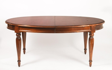 Contemporary Mahogany Dining Table DEC1