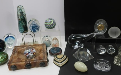 Desk Paperweights; Additions