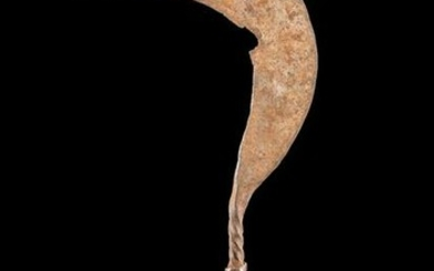 Early 20th C. African Matakam Iron Sickle Currency