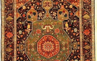 Exceptionally Fine & Unique Farahan Rug, West...