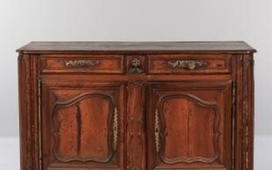 French Provincial Walnut Commode