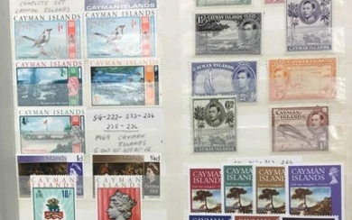 MOSTLY KGVI-QEII RANGE OF PREDOMINANTLY MINT ISSUES for a wi...