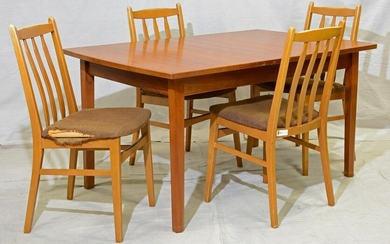 Mid Century Table & 4 Chairs - William Lawrence
