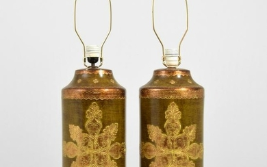 Pair of Aldo Londi Lamps