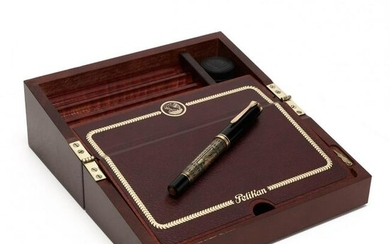 Pelikan, Günther Wagners Escritoire and Fountain Pen