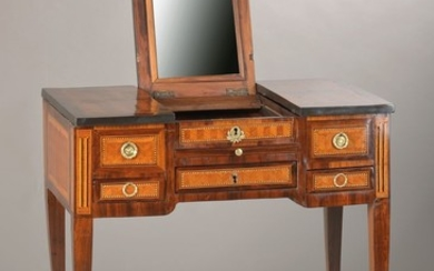 """""""Poudreuse"""" or dressing table, France, Louis- Seize-style,..."""