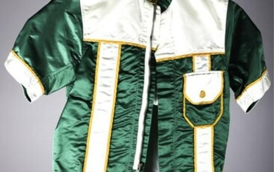 "WILLIAM ""BILLY"" HAUGHTON HARNESS RACING SILKS"