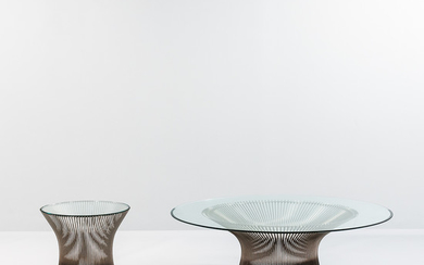 Warren Platner for Knoll Coffee and Side Table