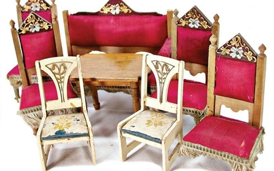dollhouse living-room suite, pear tree furniture