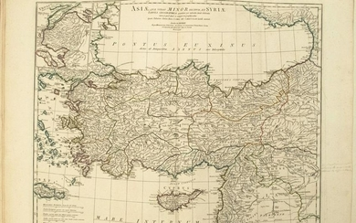 1764 d'Anville Map of Turkey and Parts of the Middle