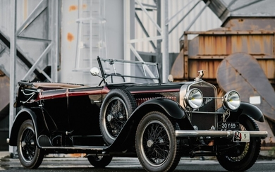 1925 Hispano-Suiza H6B Transformable Cabriolet by Belvallette