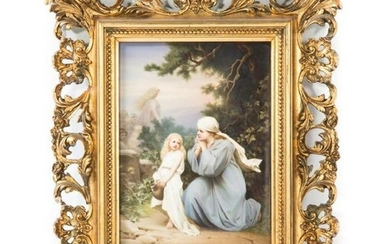 19Th Century Kpm Porcelain Plaque