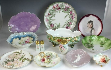 French Limoges and German China