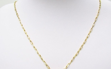 9,60 gr. - 50 cm. - 18 kt. Yellow gold - Necklace with pendant