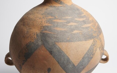 A CHINESE NEOLITHIC PAINTED JAR CIRCA 3RD TO 2ND MILLENNIUM B.C.