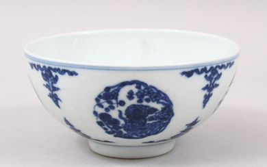 A GOOD 19TH CENTURY OR EARLIER CHINESE BLUE & WHITE