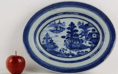 ANTIQUE CHINESE CANTON PLATTER