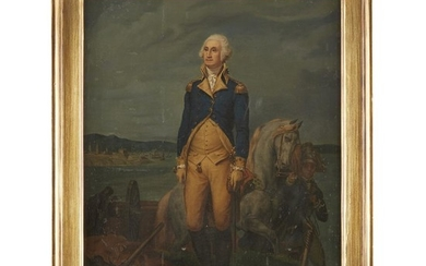 After Léon Cogniet (French, 1794-1880) Portrait of George Washington...