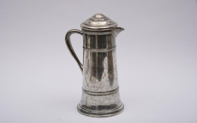 American Sterling Silver Tall Tankard Height 10 inches