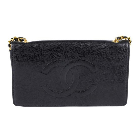 CHANEL - a WOC 'Wallet On Chain' handbag. Crafted from