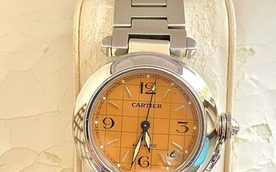 "Cartier - Pasha de Cartier Automatic ""NO RESERVE PRICE"" - Ref. 2324 - Men - 2000-2010"