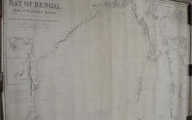 Chart of the Bay of Bengal
