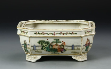 Chinese Export Famille Rose Planter
