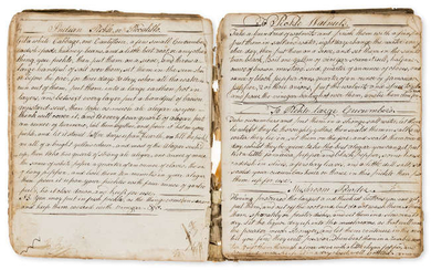Cookery, Medical and Veterinary.- Duckering (Mary) [Collection of recipes], manuscript, 1796-1826.