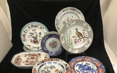 English 19th Century and Later Ironstone and Porcelain