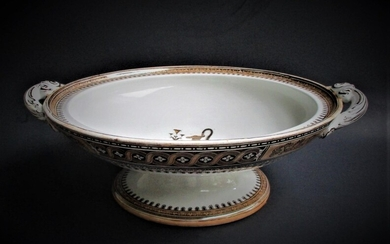 English Etruscan Compote or Bowl 19th Century FR3SH