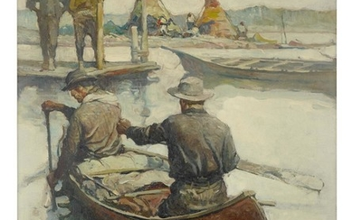 FRANK EARLE SCHOONOVER | APPROACHING CAMP