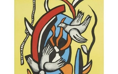 Fernand Leger (After) - Two Birds
