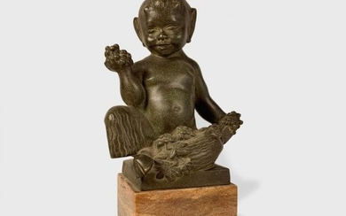 French Bronze By Bouraine, Fawn c. 1930