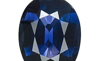 GIA Certified 2.32ct. Blue Sapphire Untreated SRI LANKA
