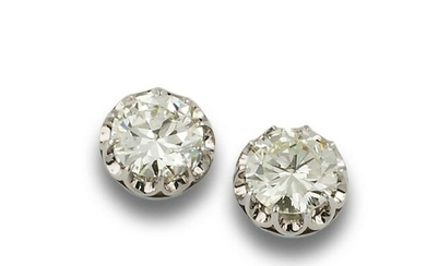 GOLD EARRINGS WITH DIAMONDS 4.03 Y 4.20