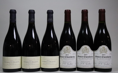 Mixed Lot Burgundy