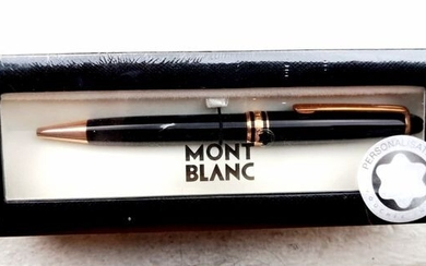 Montblanc - Ballpoint - 111813 - Meisterstuck Pink Gold Plated 90th Years Anniversary Pen. of 1
