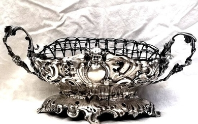 Museum Neo-Baroque Centerpiece - Silver - Maybe German - Late 19th century