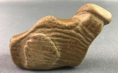 Native American Indian Artifact-Hand Carved Stone